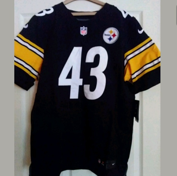 f2a98dcf7 Nike Elite Pittsburgh Steelers Troy Polamalu  43